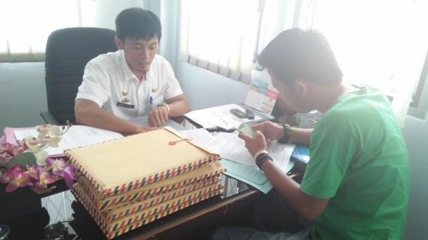 Kabid Pengembangan dan Kepangkatan BKD Lampung Utara Ramon | Lia/jejamo.com