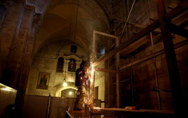Setelah 200 Tahun, Makam Yesus di Jerusalem Akhirnya Kembali Direnovasi