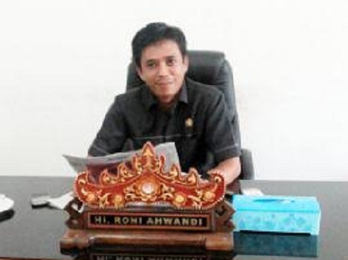 Ketua Komisi Ill DPRD Kabupaten Lampung Tengah H Roni Ahwandi | ist