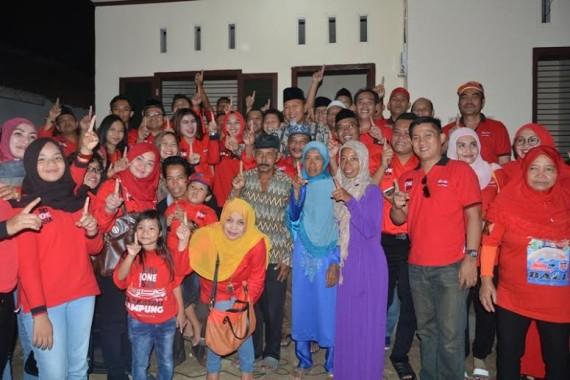 Bupati Lampung Tengah Santuni Rumah Baru untuk Keluarga Bapak Tuwuh