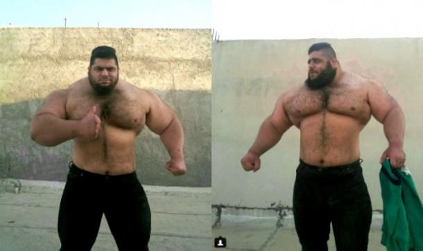 Sajad Gharibi, Si Hulk dari Dunia Nyata