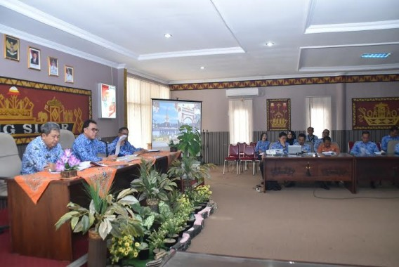 Pemkab Lampung Utara Gelar Rapat Pembentukan Panitia Peringatan HUT ke-70 Lampura