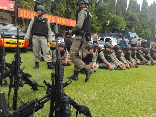 Kapolda Lampung Perintahkan Sniper Tembak Penjahat Ganggu Mudik Lebaran