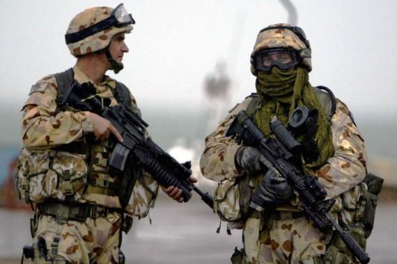 Tentara Australia melatih Iraq