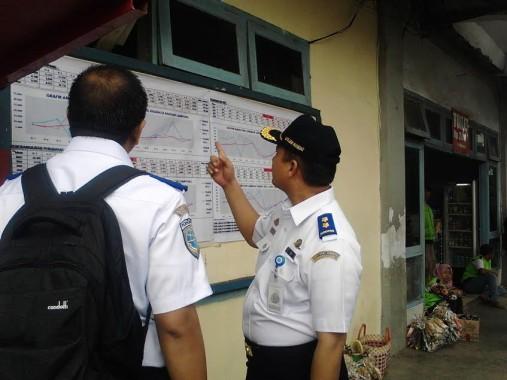 Petugas Kementerian Perhubungan Cek Kesiapan Terminal Rajabasa Bandar Lampung