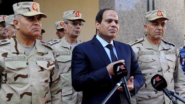 Penguasa Mesir Abdel Fattah al-Sisi wajibkan seluruh masjid di Mesir bacakan khutbah Jumat yang sama | ist