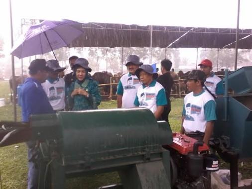Pengecekan Kendaraan Dinas di Lampung Utara Temukan Satu Mobil Berplat Hitam