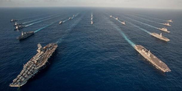 Armada Amerika di Dekat Laut cina selatan