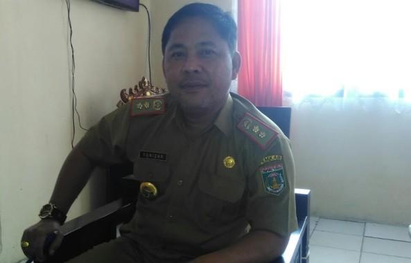 Kepala BKD Lampung Tengah Yunizar. | Raeza Handani/Jejamo.com