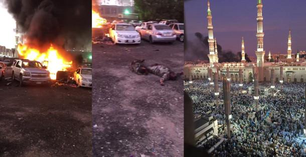 Bom meledak di Kompleks Masjid Nabawi, Madinah