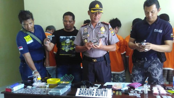 Sepekan Terakhir, Polres Lampung Tengah Tangkap Sembilan Orang Pengedar Narkoba