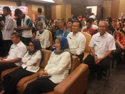 Suasana pemilihan Duta Genre BKKBN Lampung di Hotel Arinas, Rabu, 20/7/2016. | Sugiono/Jejamo.com