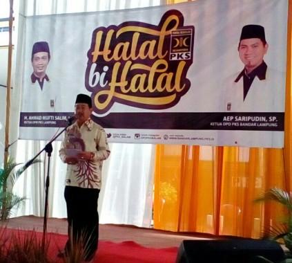 PKS Bandar Lampung Siap Kawal Program Wali Kota Herman HN