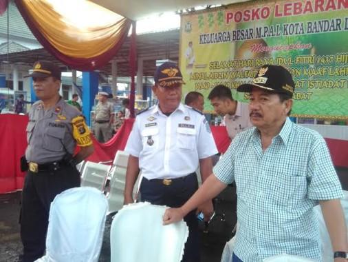 Herman HN Pantau Langsung Arus Balik 2016 di Terminal Rajabasa