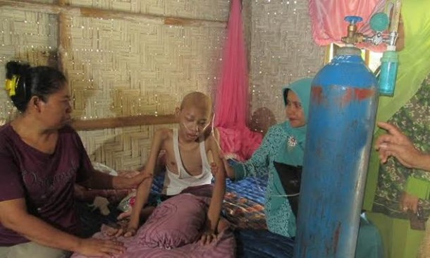 Imam Jaenuri Arif Penderita Kanker Tulang dan Paru-Paru Asal Lampung Timur Meninggal Dunia