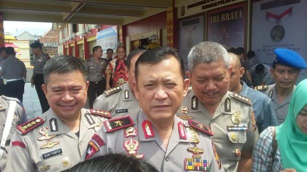 Kapolda Lampung Brigjen Ike Edwin