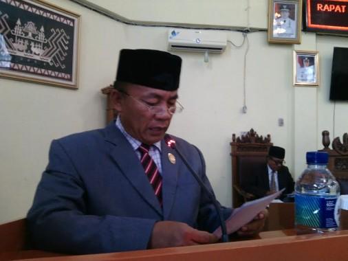 Ketua DPRD Lampung Timur Ali Johan Arif | jejamo.com