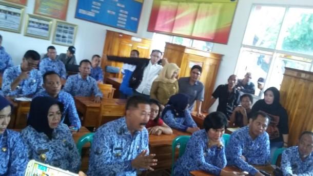 Siswa SMKN 9 Bandar Lampung Lawan Instruksi Kadis Pendidikan Suhendar