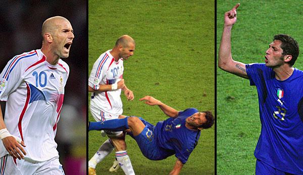 Marco Materazzi dan Zinedine Zidane Insiden