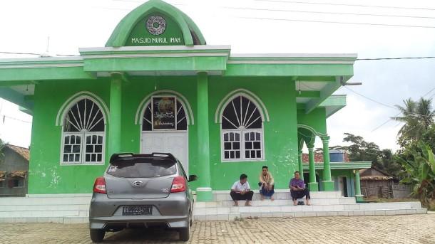 Masjid Nurul Iman di Pedukuhan Gunung Labuhan, Desa Tanjung Iman, Kecamatan Abung Selatan, Lampung Utara, diperkirakan telah berumur 200 tahun lebih. | Jejamo.com