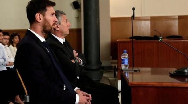 Messi dan ayahnya menjalani sidang penggelapan pajak | ist