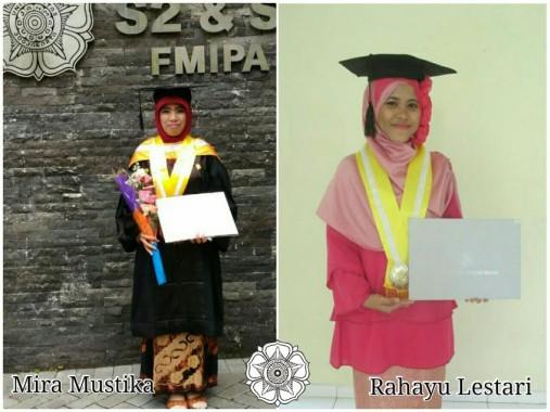 Dua Penggiat Dakwah Sekolah Bandar Lampung Mira dan Rahayu Rampungkan Magister Bareng di UGM