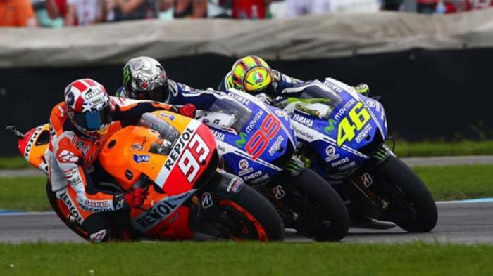 Jelang MotoGP Jerman Marquez Tak Mau Coret Rossi dari Persaingan Juara Dunia
