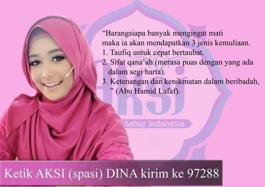 Dina Nur Atika Peserta Aksi Indosiar Asal Lampung Butuh SMS yang Banyak