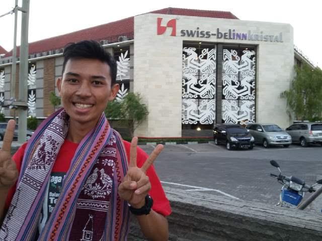 M Nurhayatun Nufus  atau akrab disapa Nuvus, pemuda asal Desa Bumiraya, Kecamatan Abung Selatan, Lampung Utara | ist