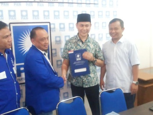 Wakil Sekjen DPP PAN Edi Agus Yanto Maju Pilkada Pringsewu