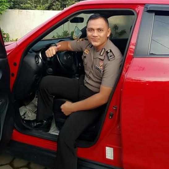 Anggota polisi asal Lampung Brigpol Wahid Bagus | ist