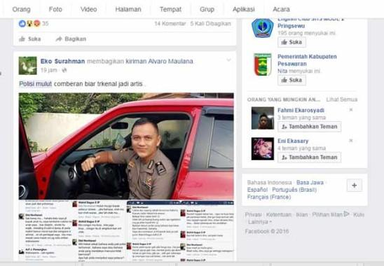 Berita Polisi Mulut Kotor asal Lampung Masih jadi Viral di Medsos dan Direspon 175.000 Pembaca, Polda Lampung Belum Berikan Klarifikasi