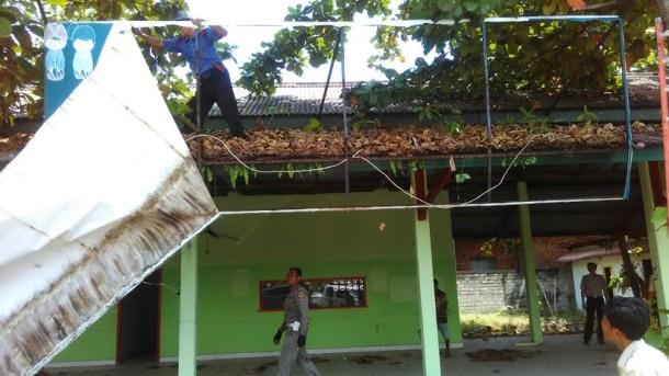 Genjot PAD, Dispenda Lampung Tengah Razia Reklame Bodong