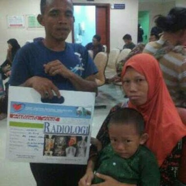 Bocah Penderita Jantung Bocor di Metro Rendi Punya Cita-cita Jadi Polisi