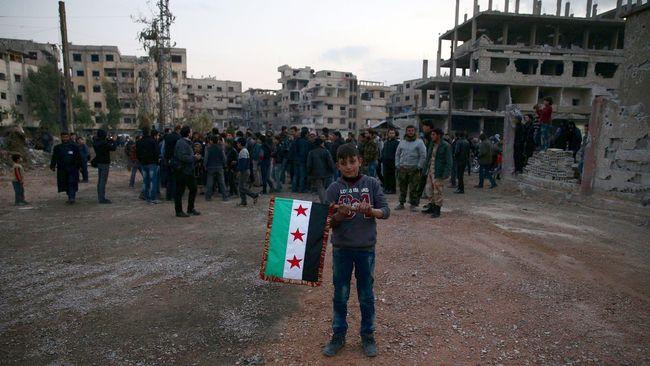 Selama Idul Fitri, Militer Suriah Gencatan Senjata Tiga Hari