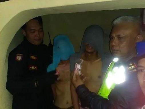 Terjaring di Depan Pos Polisi Bambu Kuning, 12 Paket Sabu-Sabu Disita Petugas