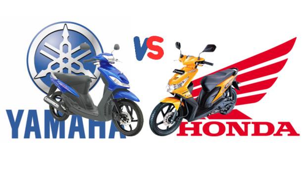 Sekuter Matick Honda dan Yamaha