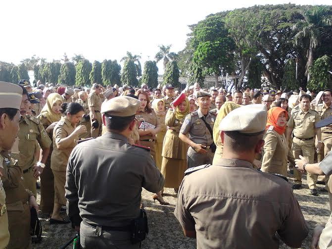 Usai Libur Lebaran, Tingkat Kehadiran PNS Pemprov Lampung 95 Persen