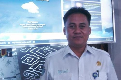 Prakiraan Cuaca Hari Ini: Bandar Lampung Berawan, Beberapa Daerah di Lampung Hujan Ringan