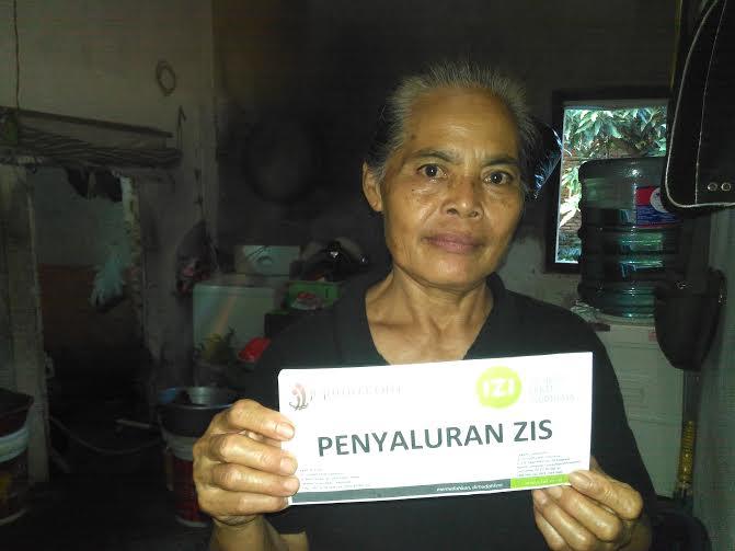 Suparti (50) warga, Jalan P Kelagian, Kedamaian, Sukabumi, Bandar Lampung | Andi/jejamo.com