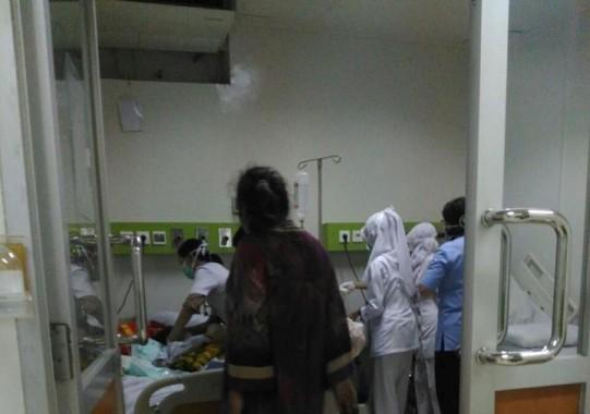 Susanti, penderita kanker wajah yang menyebabkan sebagian besar wajahnya rusak, hari ini wafat dalam perawatan di RSCM Jakarta. | Ist