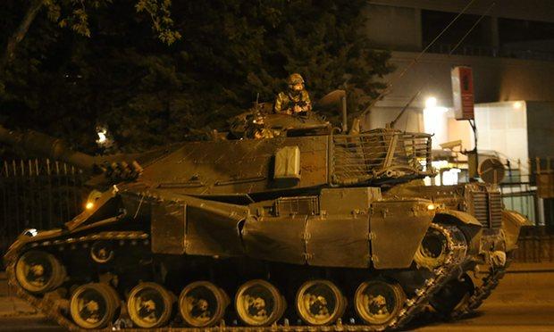 Kelompok Sekuler Gulen Dituding  Sebagai Dalang Kudeta Turki