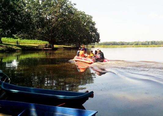 Bendungan Tirtashinta Lampung Utara Jadi Pilihan Liburan Keluarga