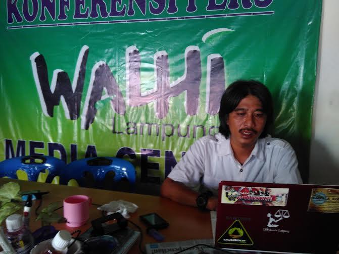 Direktur WALHI Lampung Hendrawan |Jejamo.com