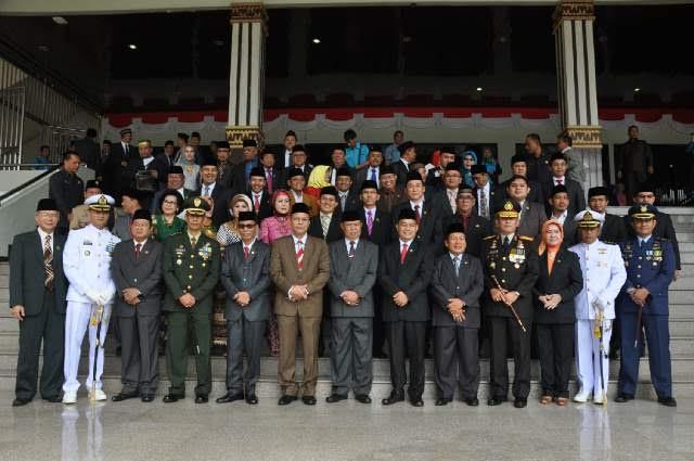 Advertorial: DPRD Lampung Gelar Rapat Paripurna Istimewa  Pidato Presiden Dalam Rangka HUT ke-71 RI