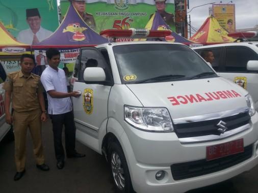 17 Mobil Ambulance Gratis Kini Disiagakan Pemkot Bandar Lampung