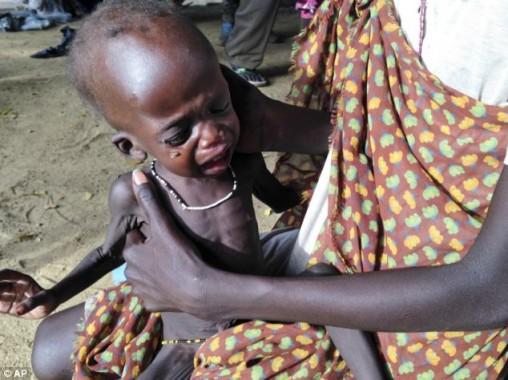 Terkurung Perang, Warga Sudan Selatan Dilanda Bencana Kelaparan