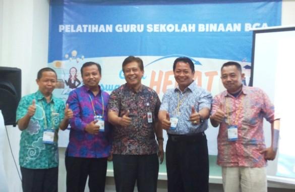 Pelatihan Guru Sekolah Binaan Bakti BCA di Tangerang yang dihadiri dua kepala sekolah asal Lampung. | Ist
