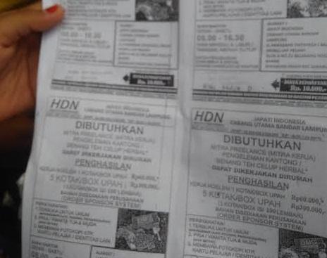 LBH Bandar Lampung Minta Disnaker dan Polda Usut Dugaan Tipu-Tipu Kedok Ngelem Teh Celup PT Hadena