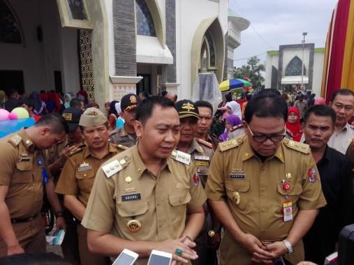 Camat Abung Selatan Gelar Rakor Persiapan Upacara Pengibaran Bendera HUT ke-71 RI